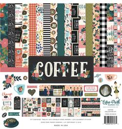 Echo Park Paper Co. Coffee Collection for Scrapbooking