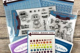 Kraftin' Kimmie Stamps Giveaway Prize Package | Creative Scrapbooker Magazine