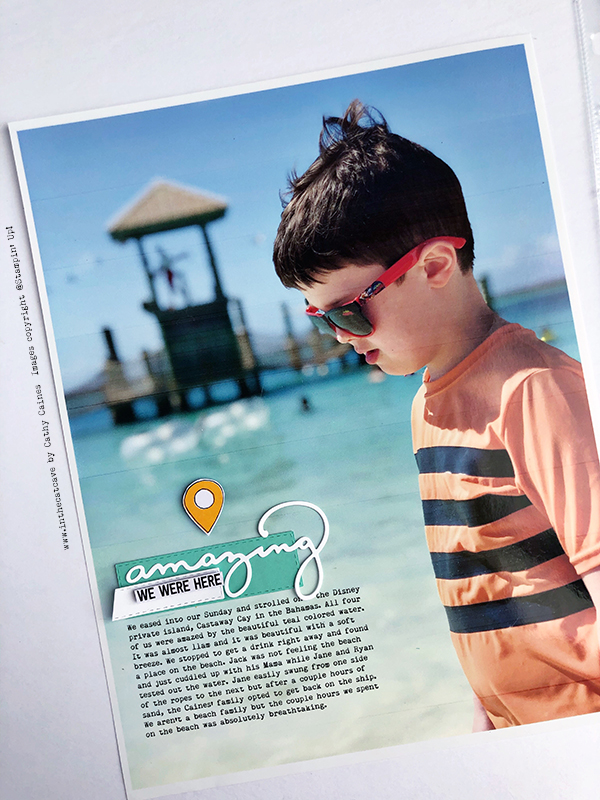 Scrapbooking Lots of Pictures with Cathy Caines   Creative Scrapbooker Magazine
