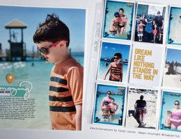 Scrapbooking Lots of Pictures with Cathy Caines | Creative Scrapbooker Magazine