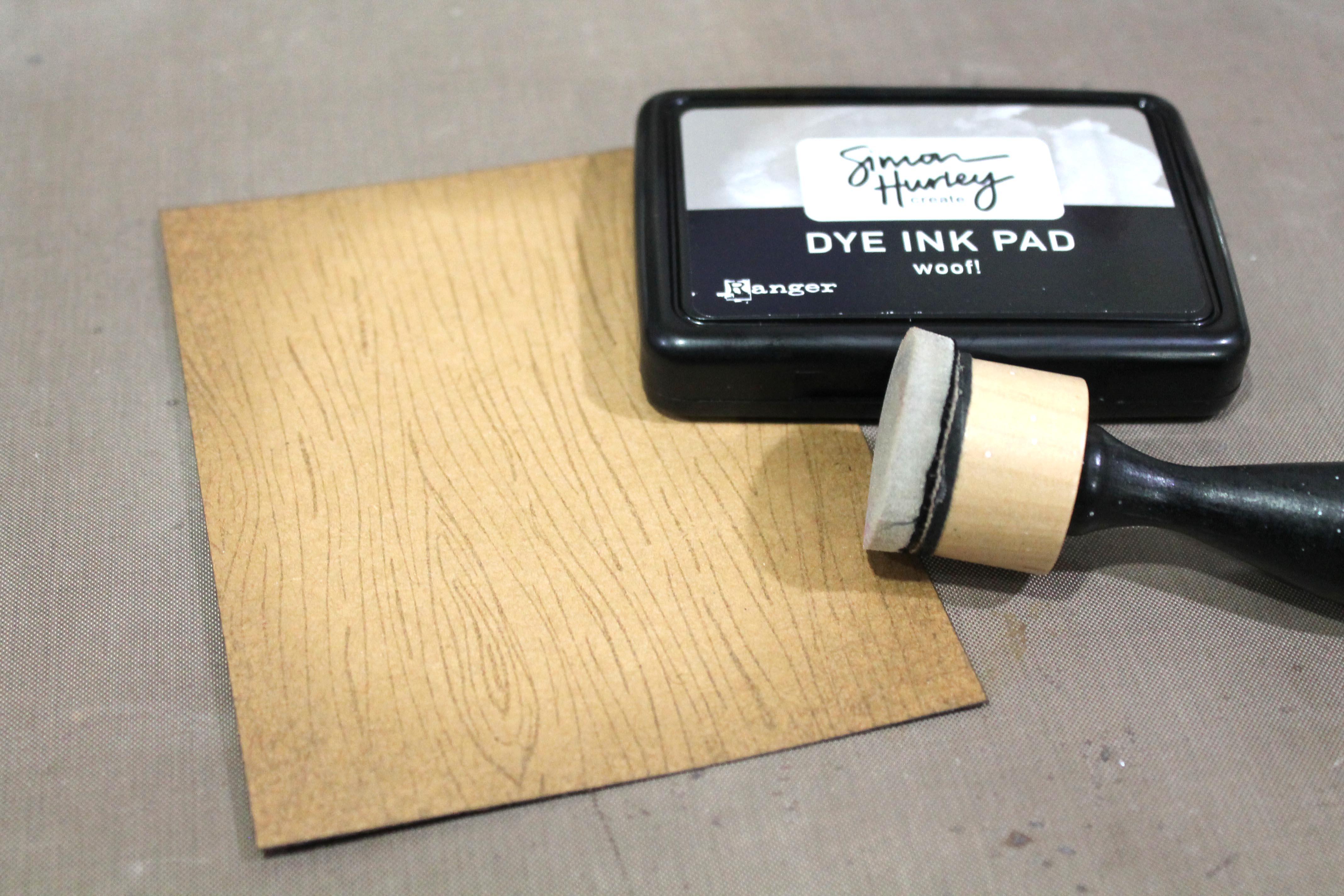 Simon Hurley Create Dye ink pad and Ranger Blending Tool