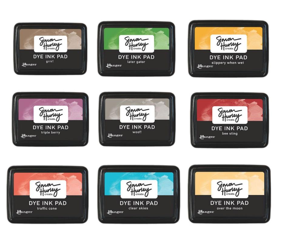 Ranger Simon Hurley Create Dye ink Pads