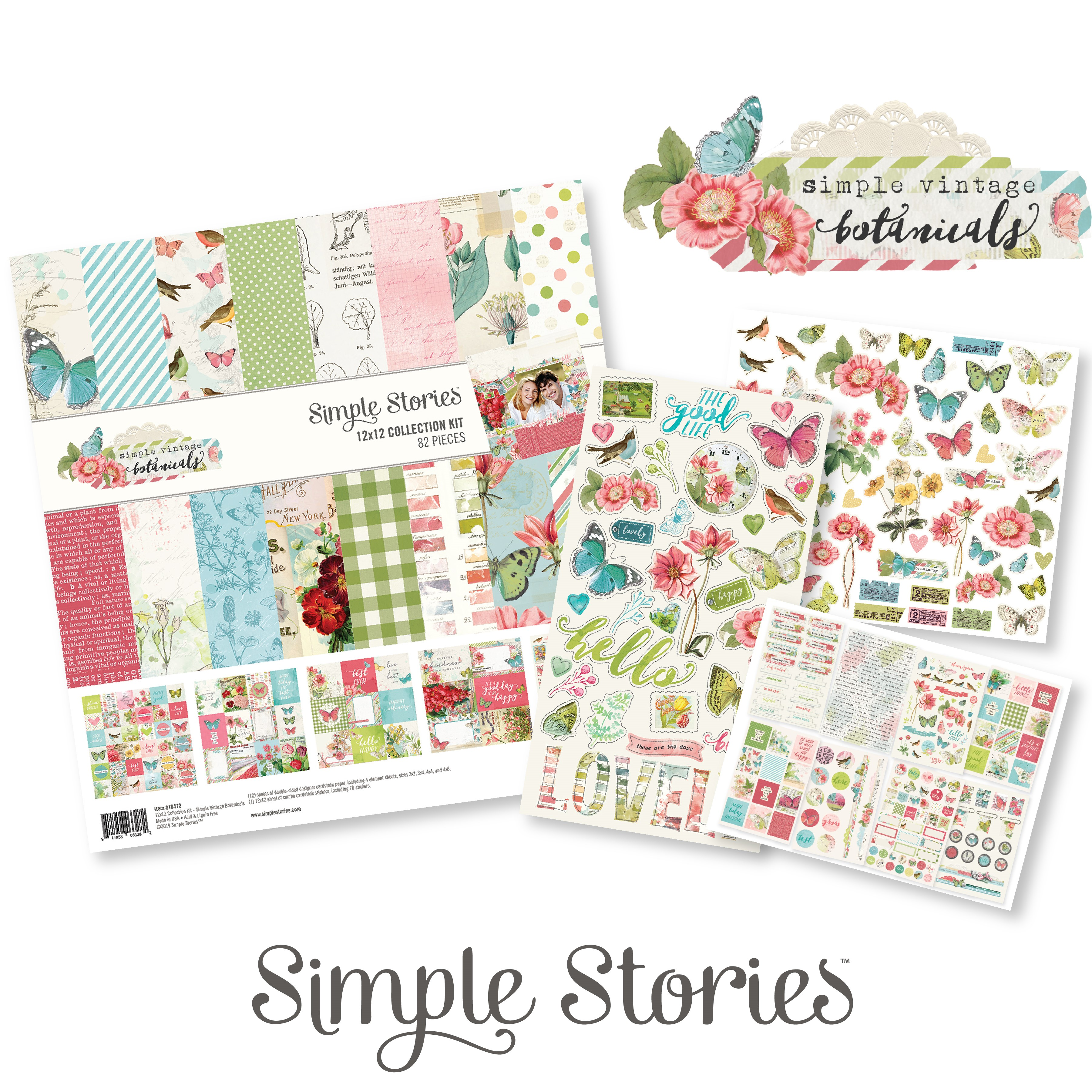 Simple Vintage Botanicals Collection by Simple Stories - GIVEAWAY | Creative Scrapbooker Magazine