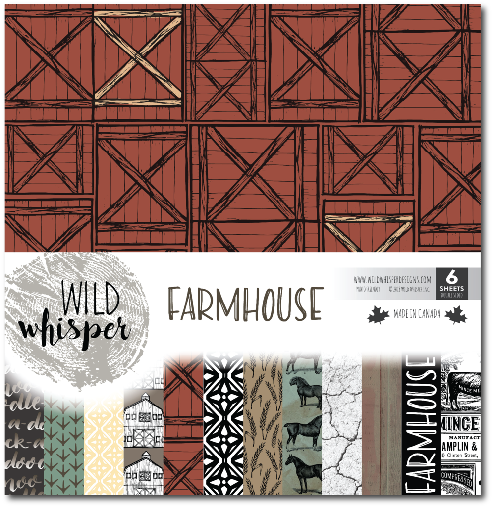 Wild Whisper Designs Farmhouse Collection for Scrapbooking | Creative Scrapbooker Magazine