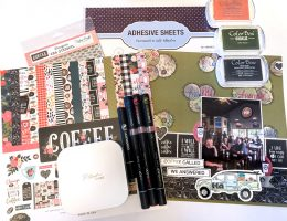Mixed Media Stickers for Scrapbooking - Scrapbooking How To Video