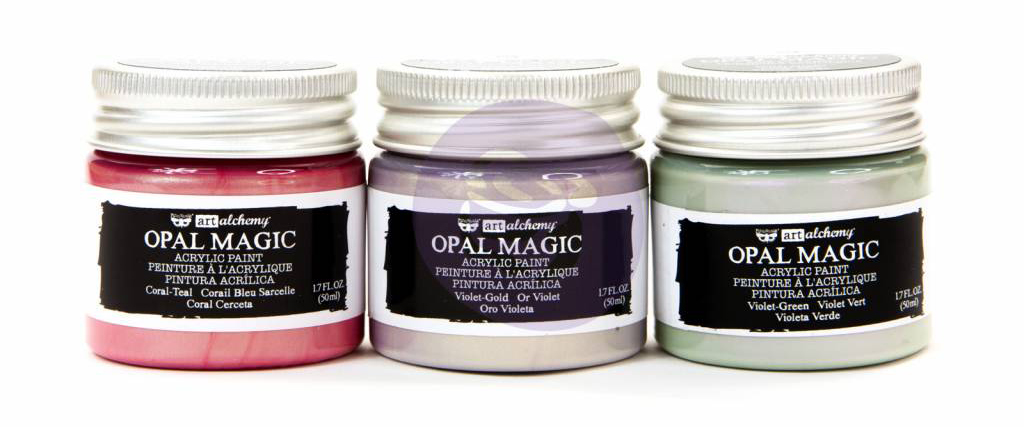 Prima Marketing Finnabair Opal Magic Acrylic Paint