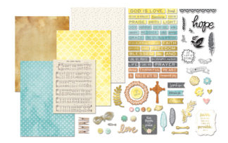 Art-C Faith Ephemera Kit by Momenta