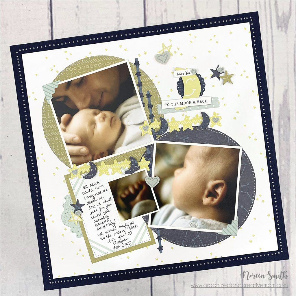 Scrapbook Layout Designed by Noreen Smith Featuring the Creative Memories Storytime Collection | Creative Scrapbooker Magazine