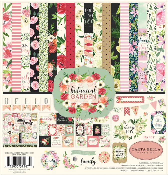 Botanical Garden Collection by Carta Bella
