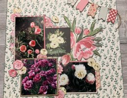 Scrapbook Layout featuring Botanical Garden Collection by Carta Bella designed by Katelyn Grosart