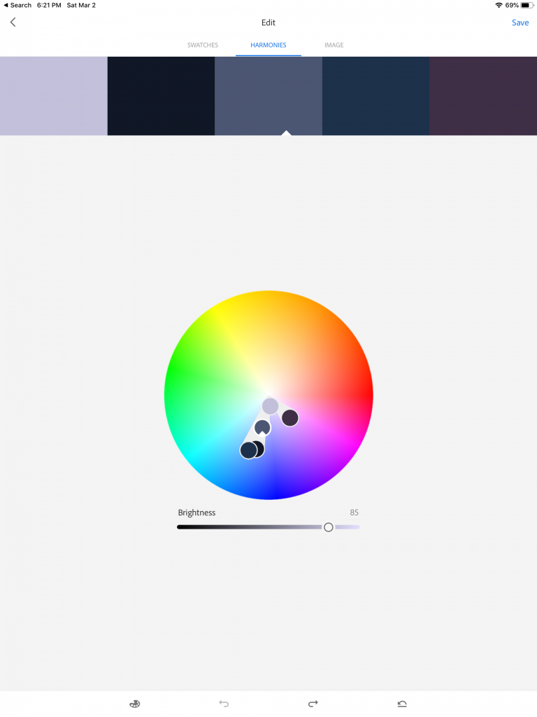 Adobe Color Scheme
