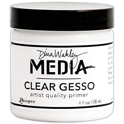 Dina Wakley Media Clear Gesso