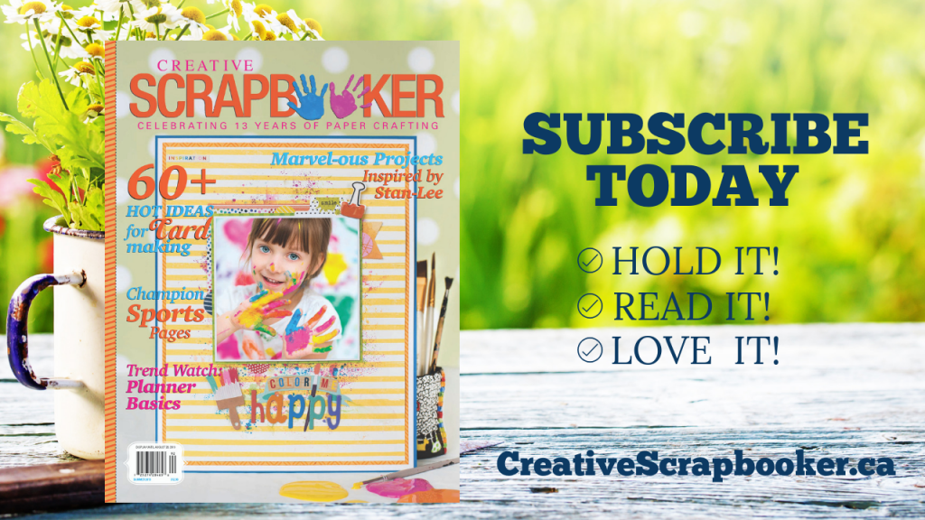 Creative Scrapbooker Magazine - Subscribe Today