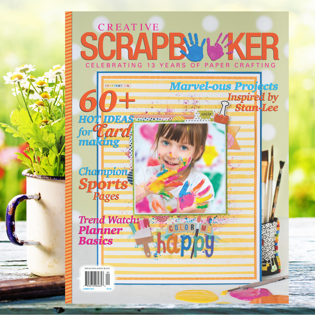 Summer 2019 Cover Creative Scrapbooker Magazine