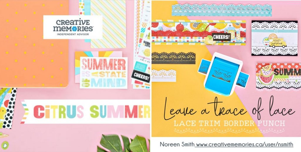 Citrus Summer Collection by Creative Memories