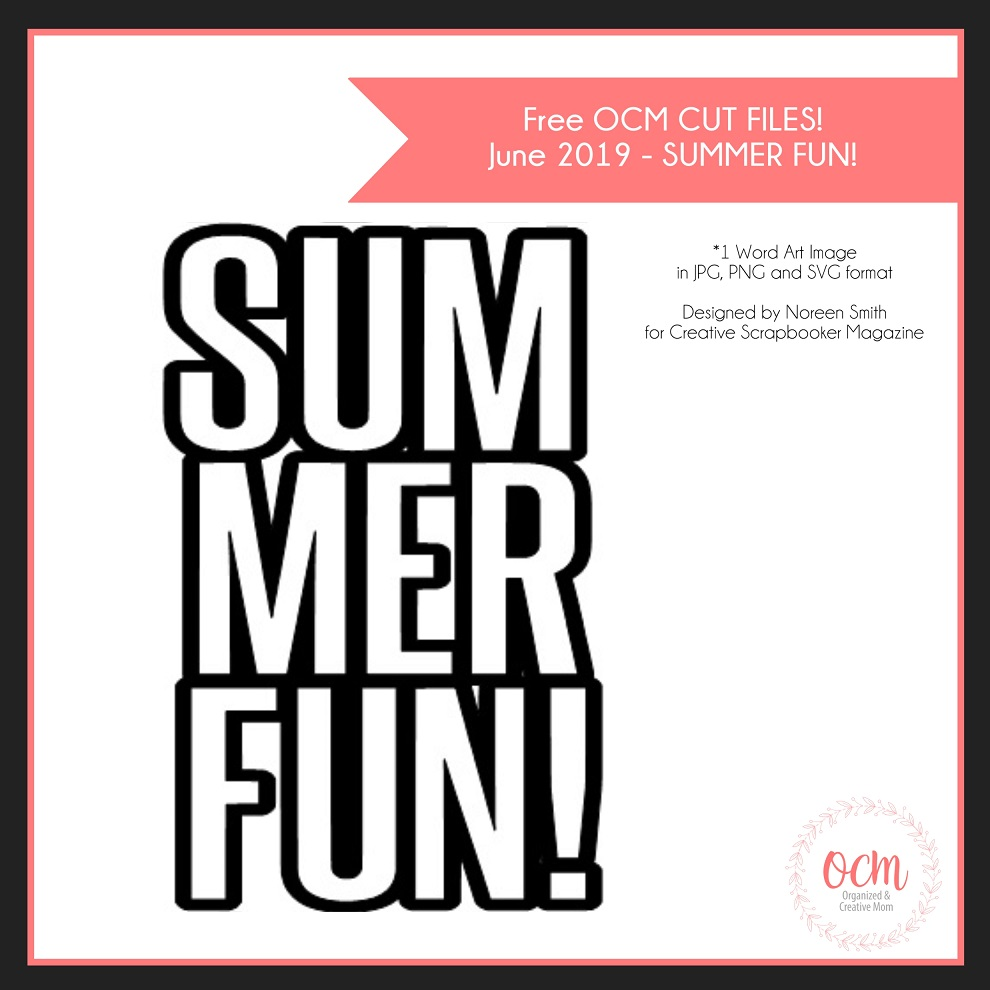 Free Summer Cut file by Noreen Smith