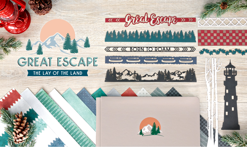 Great Escape Collection GIVEAWAY by Creative Memories