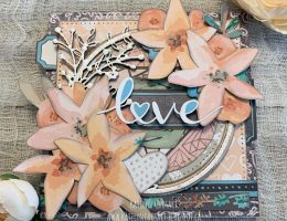 Handmade card featuring Forever & Always collection by Wild Whisper Designs. Card designed by Katelyn Grosart