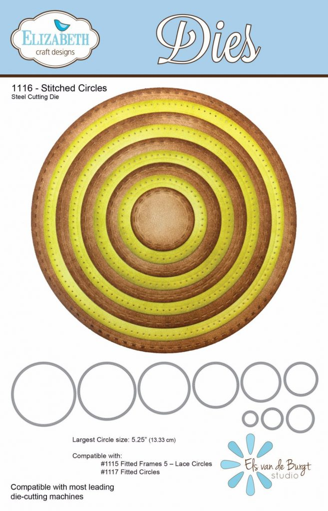 Elizabeth Craft Designs Stitched Circles die