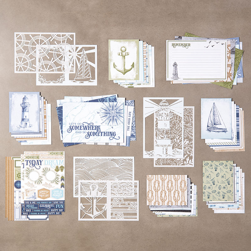 Come Sail Away With Me Collection by Stampin' Up!