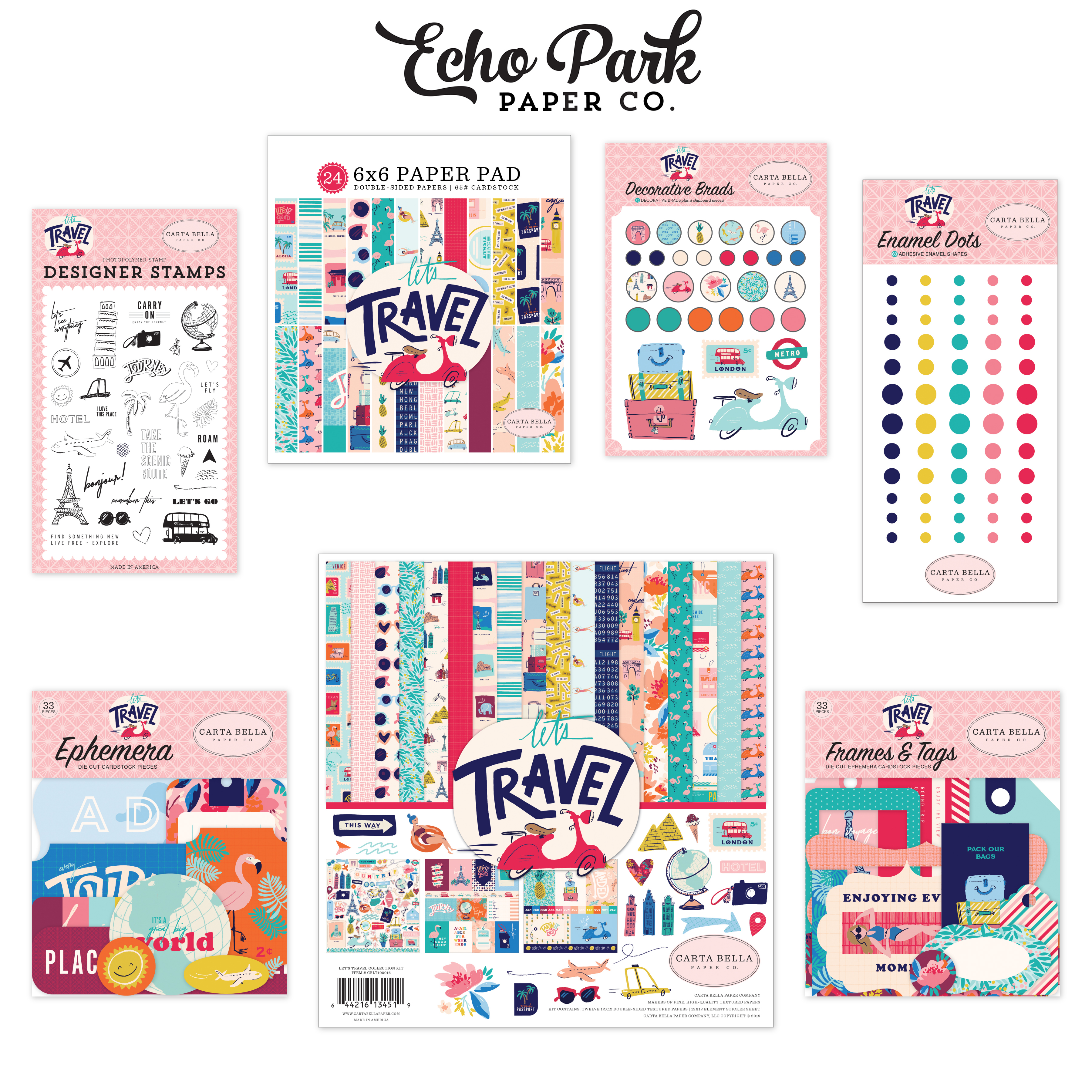 Lets Travel Prize Package by Echo Park Paper Co.