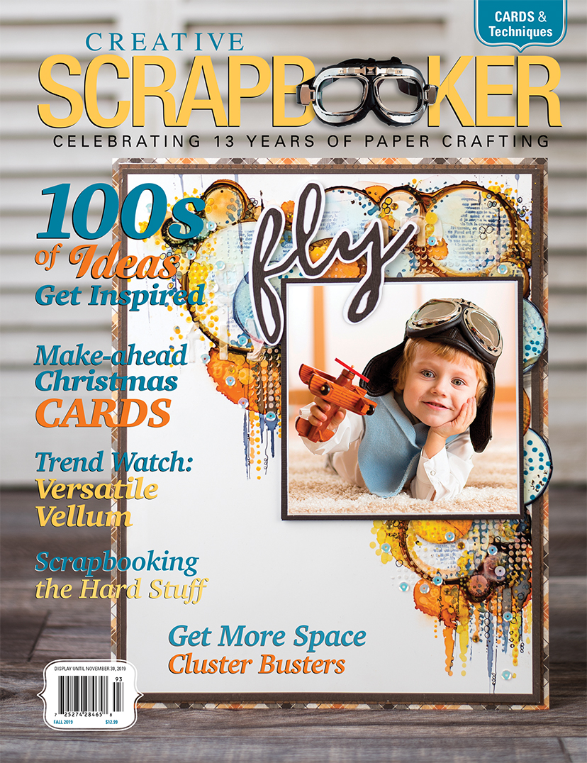 Fall 2019 Issue of Creative Scrapbooker Magazine - Scrapbook and Paper Crafting Magazine