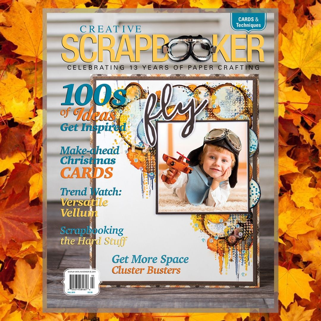 Current Fall 2019 issue of Creative Scrapbooker Magazine