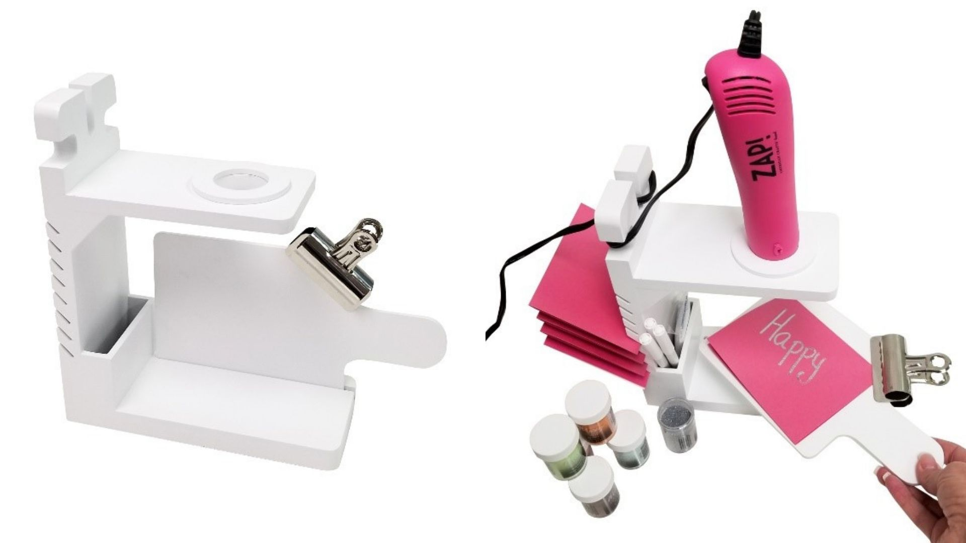 The Embossing Station - Storage Solutions - by Totally Tiffany. Organization system for your desk.