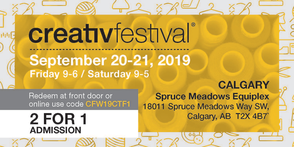 2 for 1 admission ticket for creativfestival 2019 calgary
