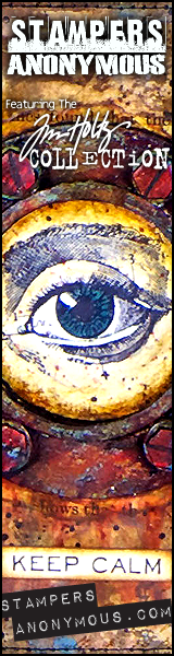 Stampers Anonymous banner image with large artistic eye