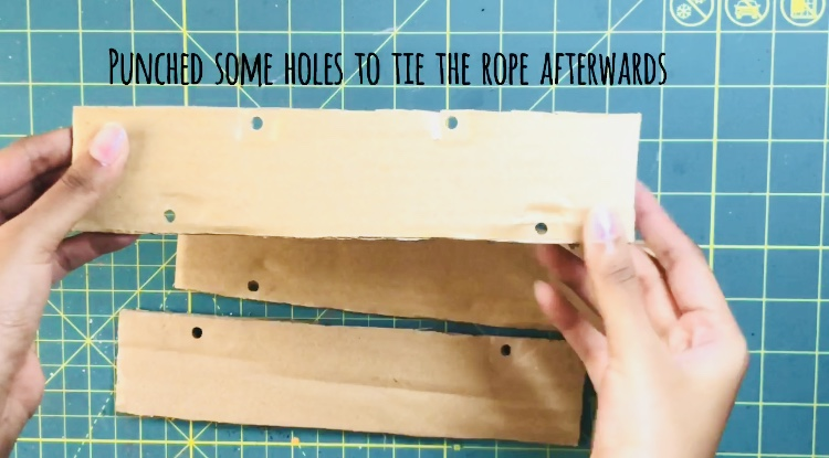 Step by step photos of creating a wooden home decor sign