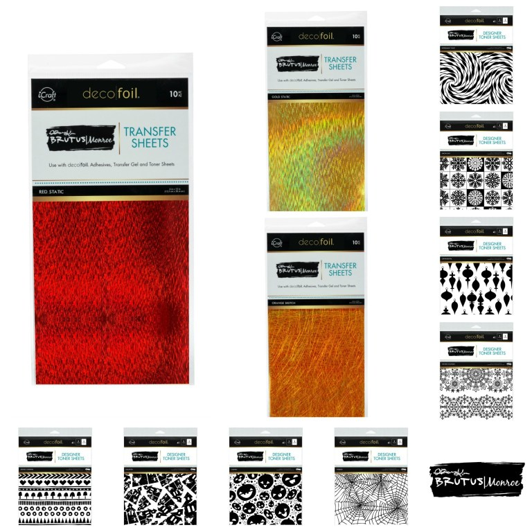 Brutus Monroe Designer Toner Sheets and Foils