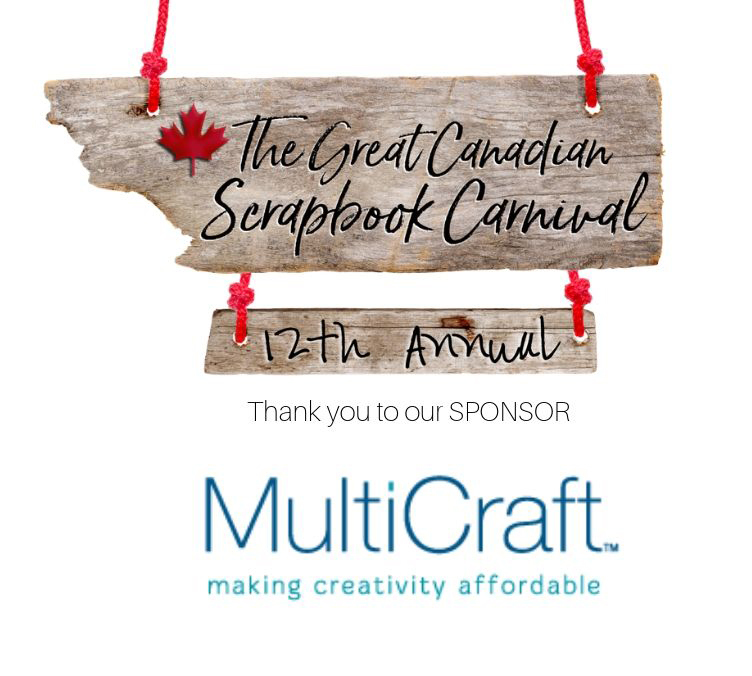 MultiCraft Sponsor logo for the Great Canadian Scrapbook Carnival - Scrapbooking Retreat in Edmonton and Calgary, Alberta