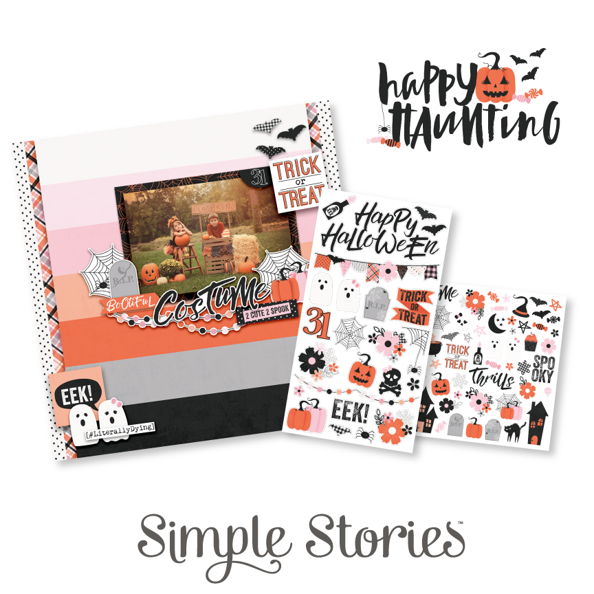 Happy Haunting Collection by Simple Stories prize package