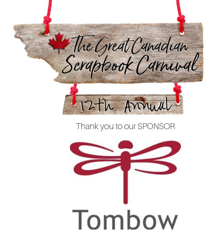 The Great Canadian Scrapbook Carnival Sponsor logo - Tombow