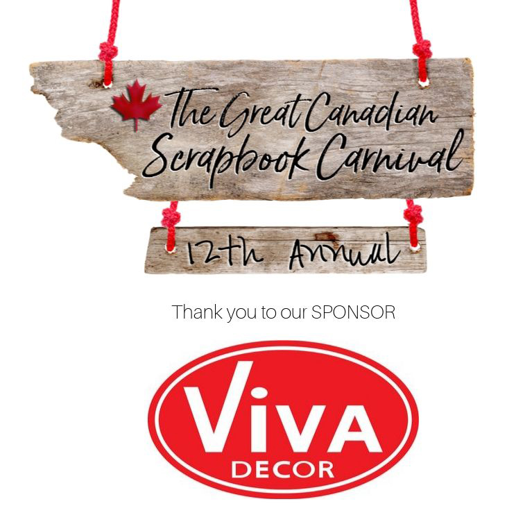 The Great Canadian Scrapbook Carnival Sponsor logo - Viva Decor