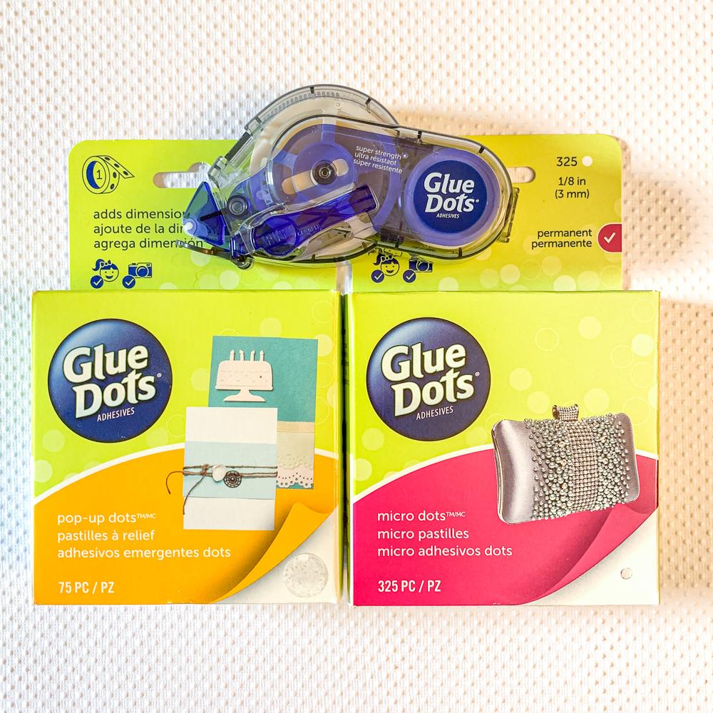 Glue Dots adhesive / super strength / micro dots / pop up dots