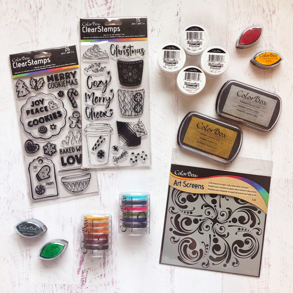 Clearsnap Colorbox prize package
