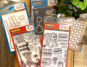 Dare 2B Artzy Stamps and Dies - Prize package for a Creative Scrapbooker Magazine giveaway