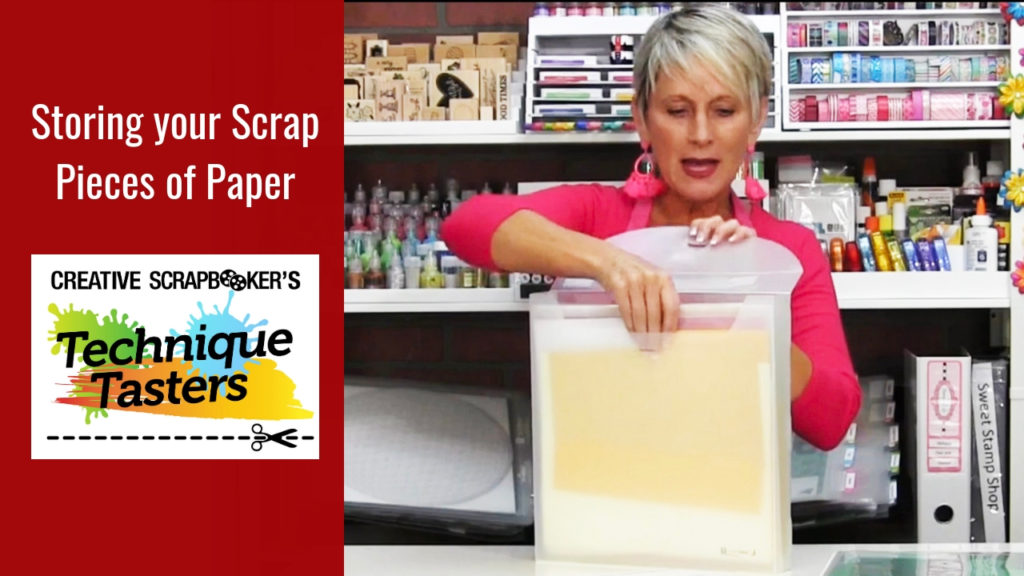 Storing Your Scrap Pieces of Paper – Technique Tasters #207