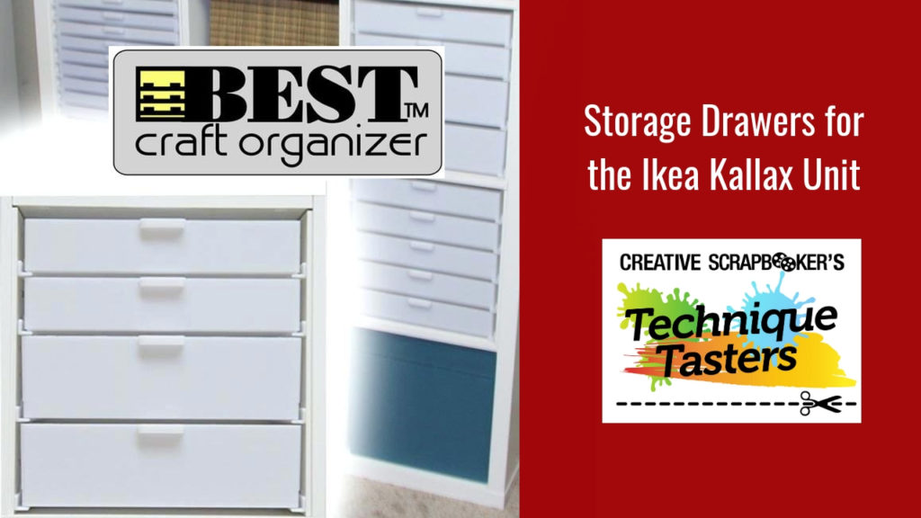 Storage Drawers for the Ikea Kallax Unit – Technique Tasters #205