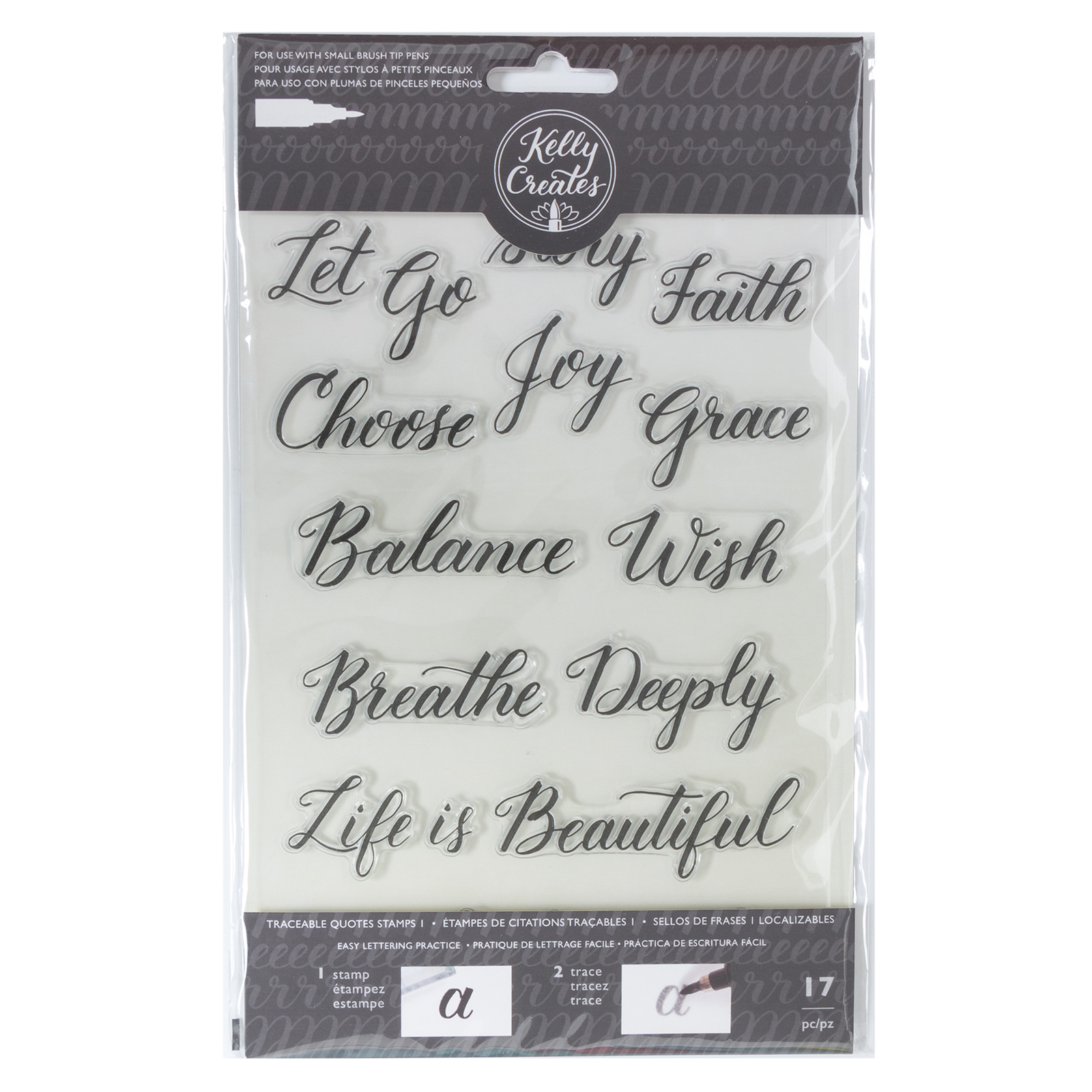 Kelly Creates Traceable Stamp Set - Quotes 1 by American Crafts