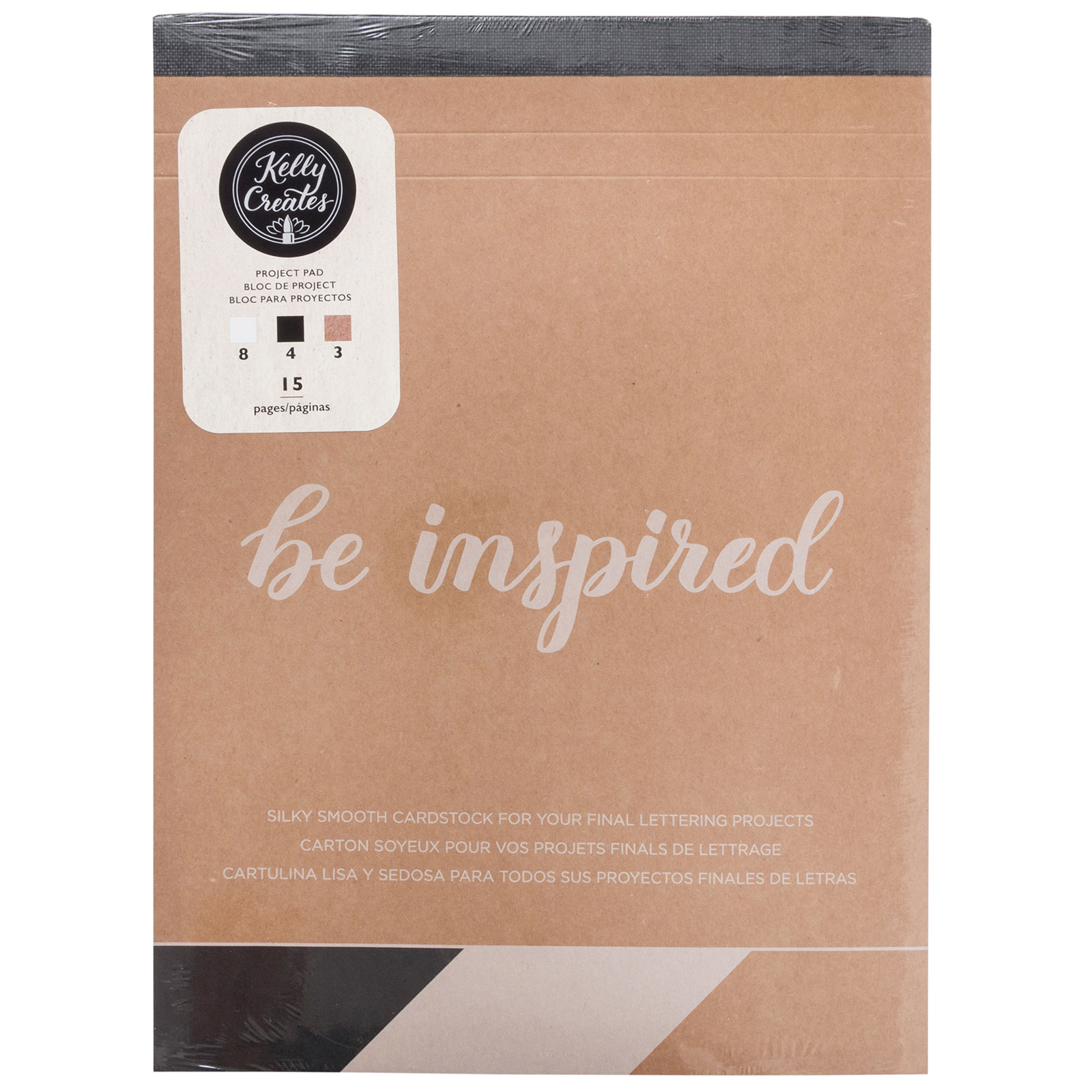 Kelly Creates Be Inspired Project Pad
