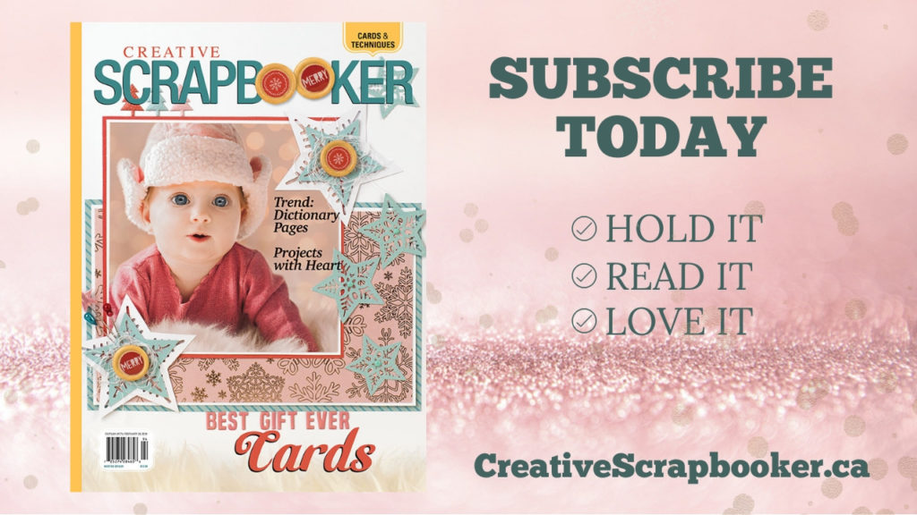 Subscribe to Creative Scrapbooker Magazine