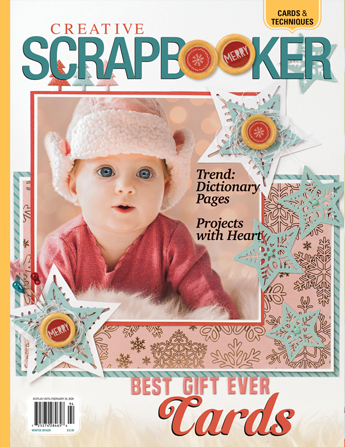 Creative Scrapbooker Magazine / Winter 2019/2020 / subscribe