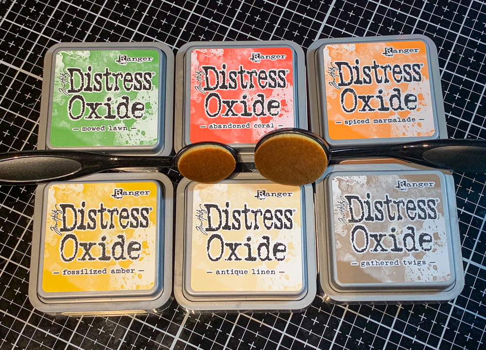 Picket Fence Life Changing Brushes and Distress Oxide Ink / stamping happiness!