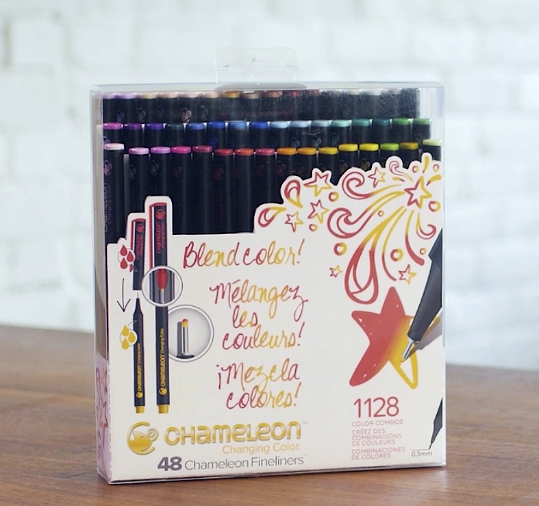 Chameleon-Fineliners-12-Days-Giving-prize-package-Creative-Scrapbooker-Magazine