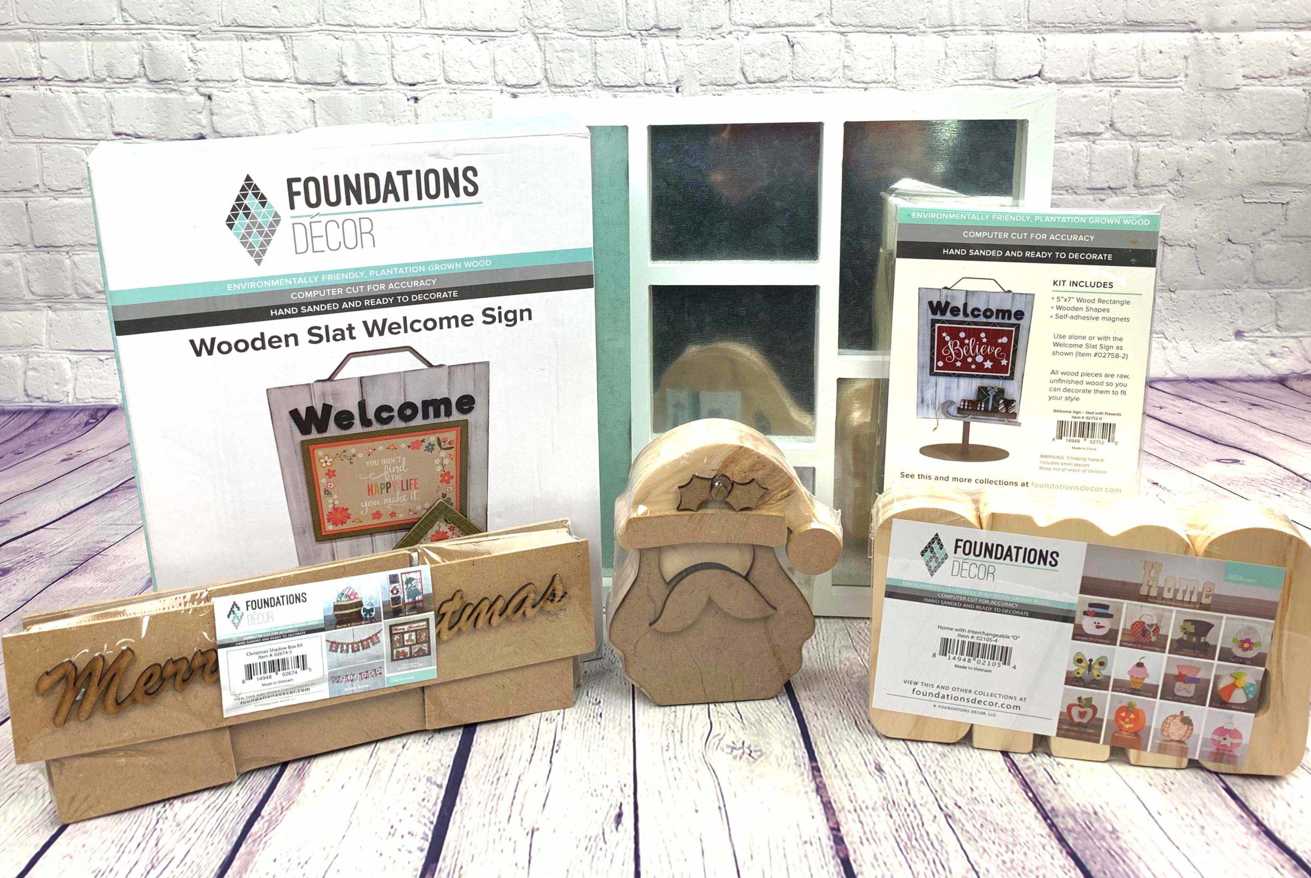 Foundations Decor Prize Package
