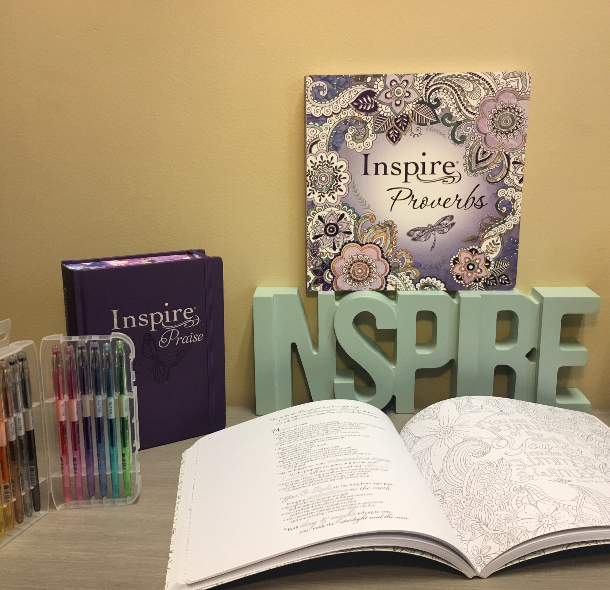 Inspire Bible Prize Package
