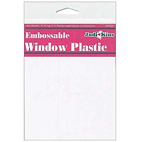 JudiKins Embossable Window Plastic